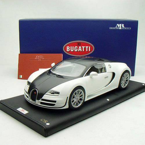 18 mr collection bugatti veyron super sport matt white w carbone. Black Bedroom Furniture Sets. Home Design Ideas