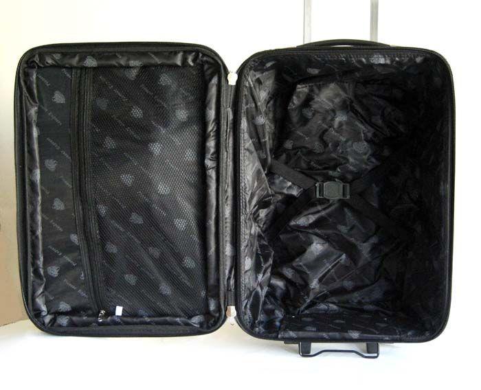 Pc Luggage Set Travel Bag Rolling Upright Expandable Wheel Gold