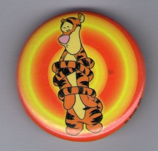 Button Pin Badge Winnie the Pooh Tigger Target