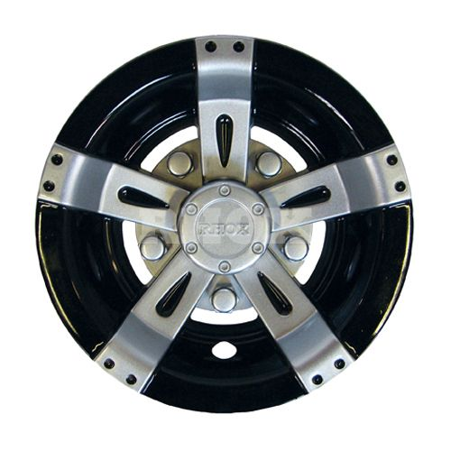 6ca351c2aa2 Universal Golf Cart Chrome Hub Cap   Wheel Cover for standard 8